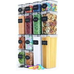Airtight Food Storage Container Set - 14 PC